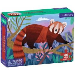 48 Pc Mini Puzzle/red Panda
