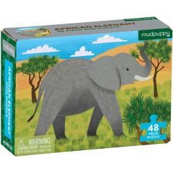 48 Pc Mini Puzzle African...