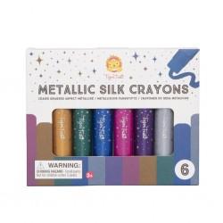 Metallic Silk Crayons