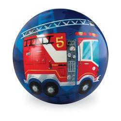 10 Cm Play Ball Fire Engine
