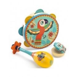 Set De 3 Instruments