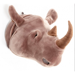 Trophée Tête Rhinocéros Michae