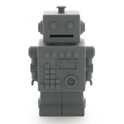 Tirelire Robot Robert Foncé