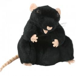 Marionnette Wildlife Rat Noir