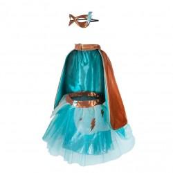 Super-duper Tutu/cape/mask 4-6
