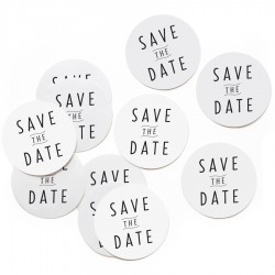 Stickers Save The Date - 10