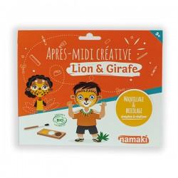 Pochette Lion & Girafe