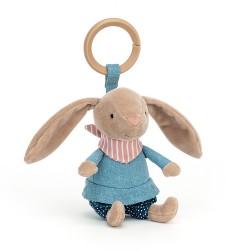 Little Rambler Bunny Rattle