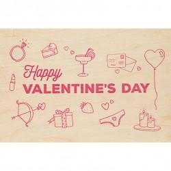 Valentine Carte Postale