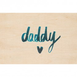 Carte Postale Daddy
